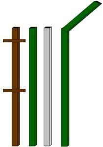 изготовление металлические столбы в Артёме